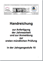 Jahresarbeit Bertolt Brecht Schule Wismar